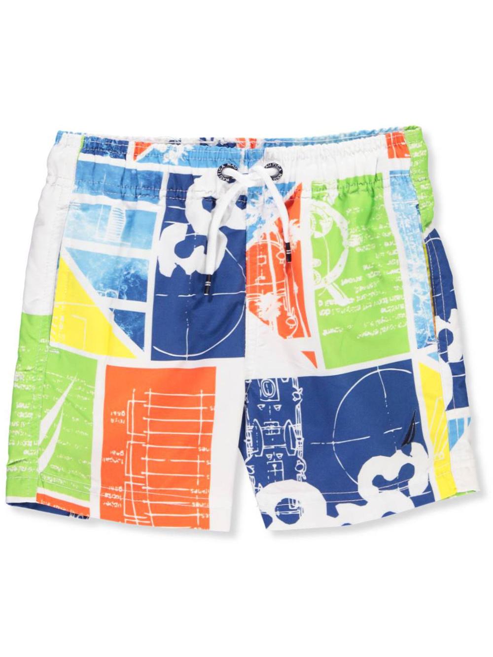 24bf9a7039 Nautica Boys' Swim Trunks