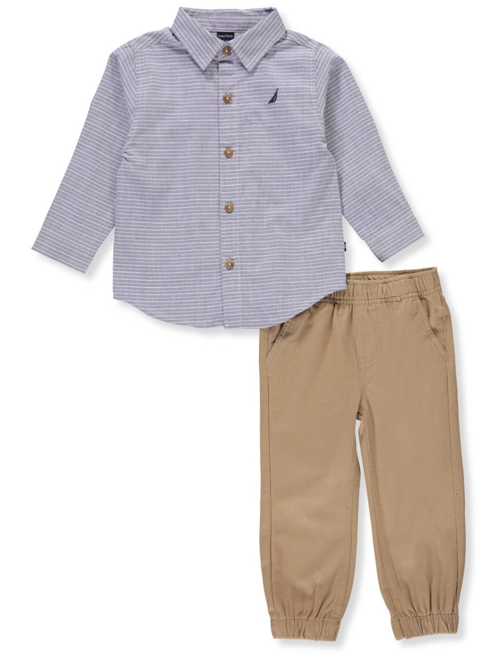 7b1a268de Nautica Baby Boys' 2-Piece Pants Set Outfit