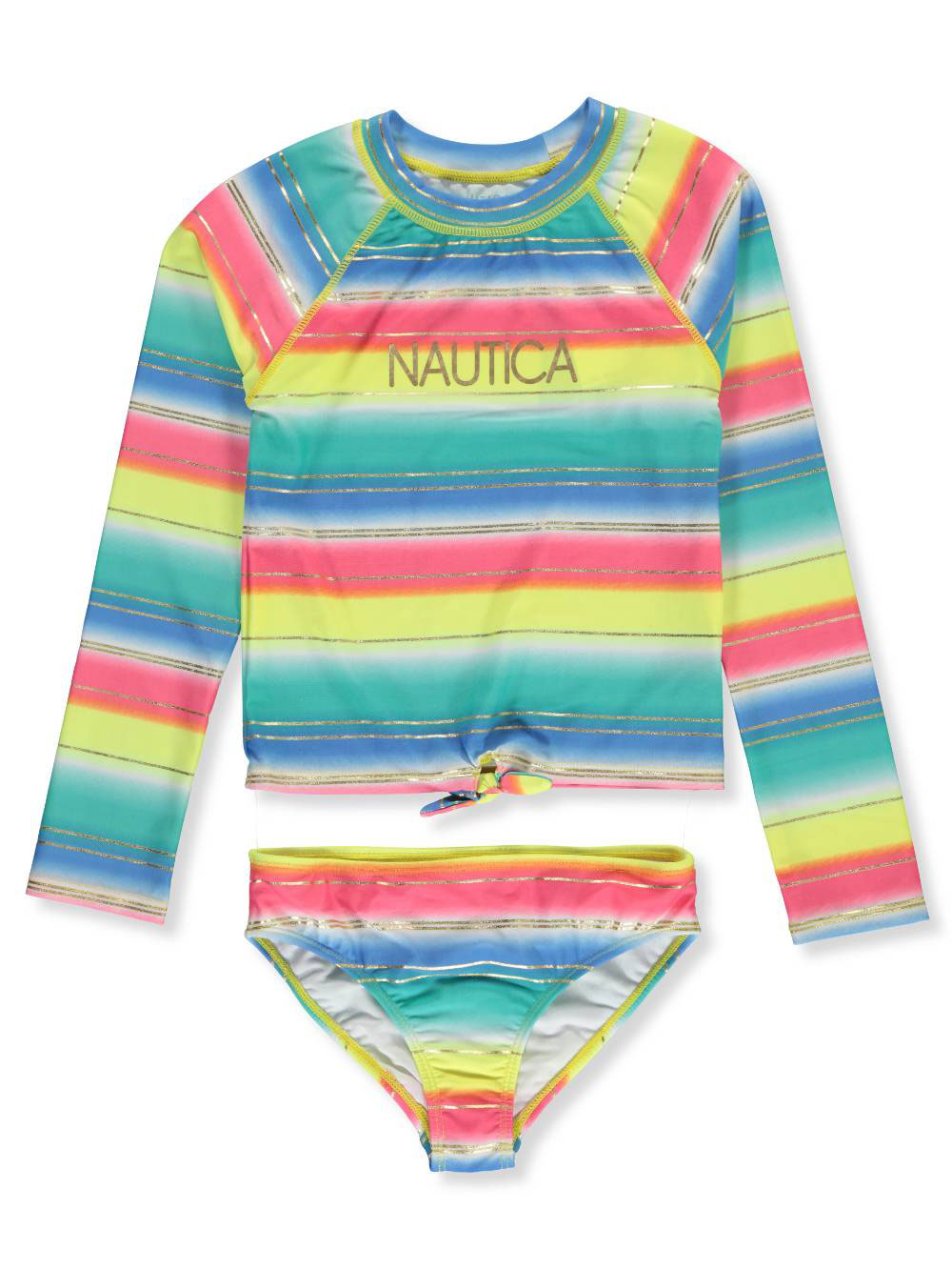 699aa9de2a Nautica Girls' 2-Piece Swim Set
