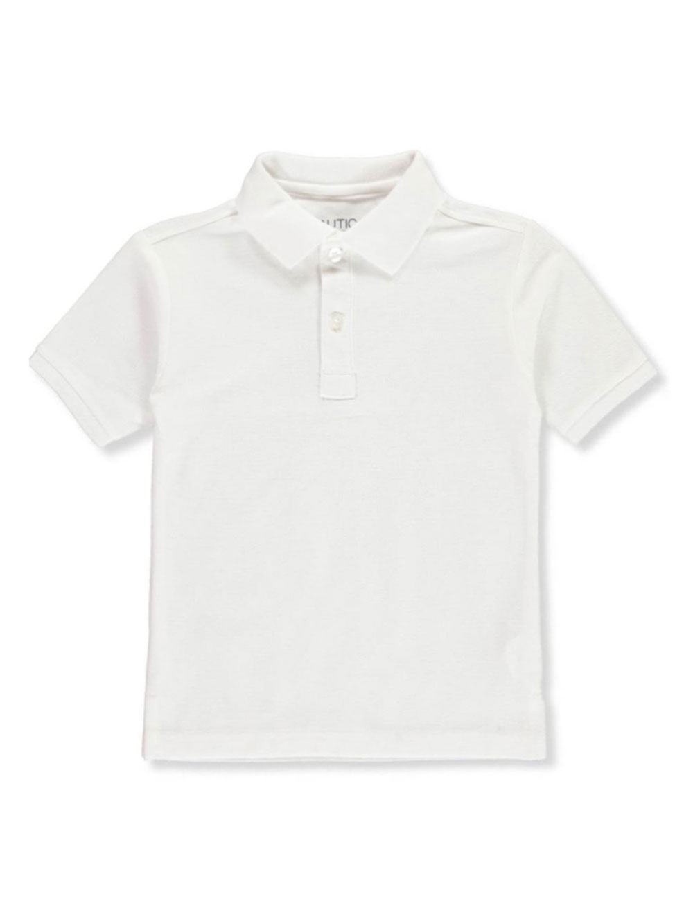 Nautica Little Girls/' Knit Polo with Picot Collar Sizes 4-6X