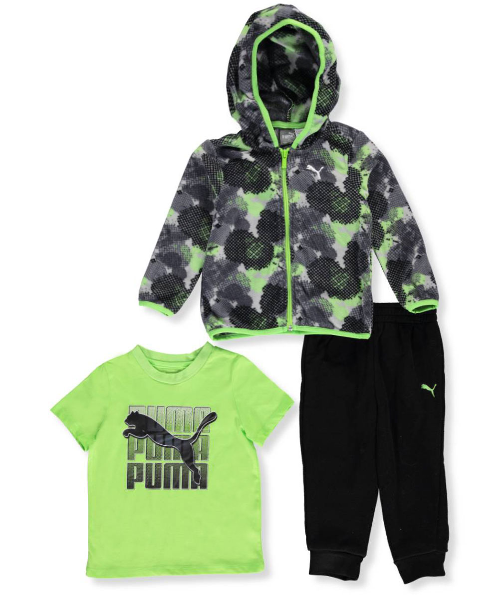 f974efb35014 Puma Baby Boys  3-Piece Outfit