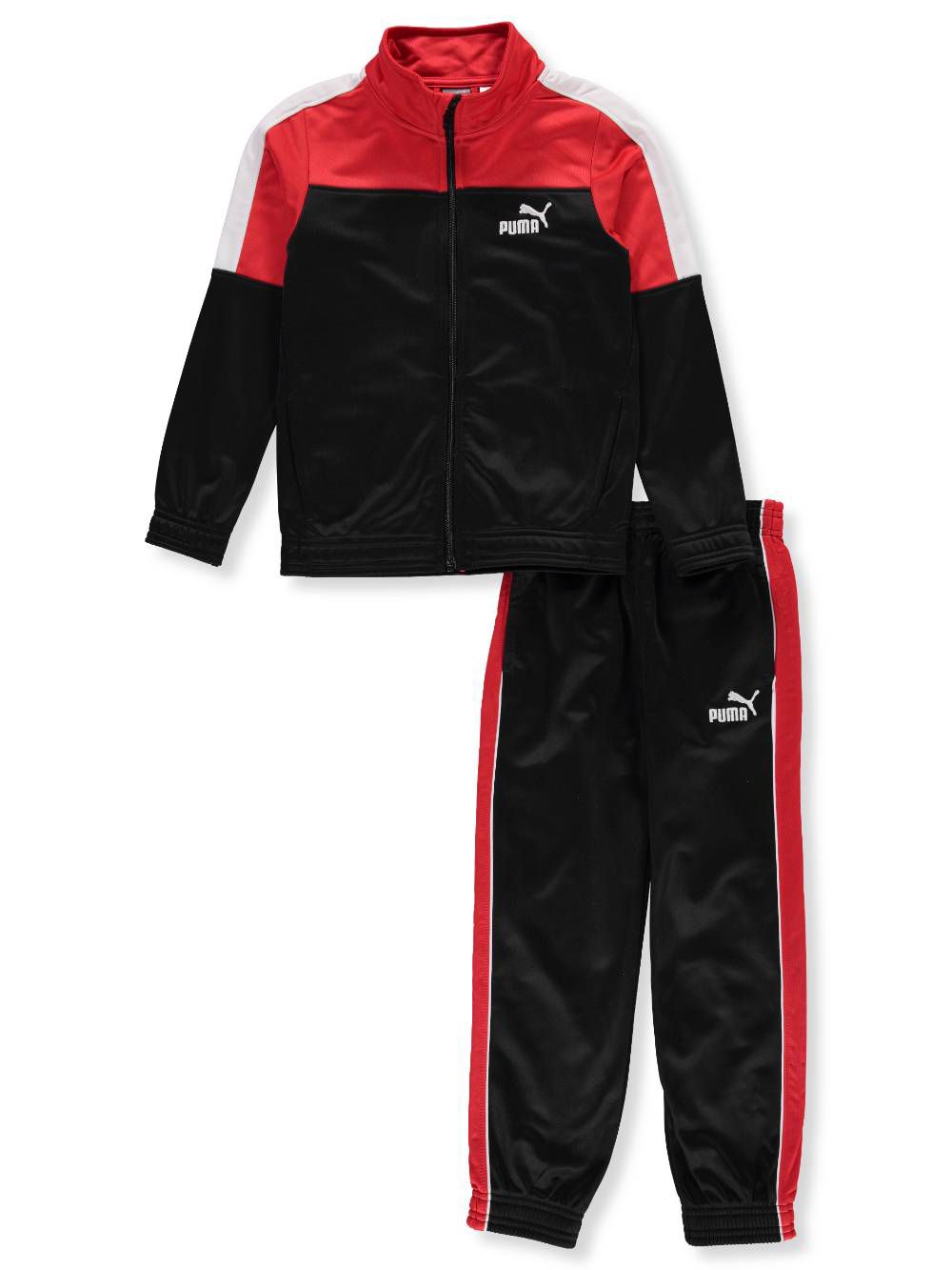 outlet online designer fashion new images of Puma Boys' 2-Piece Tracksuit Pants Set