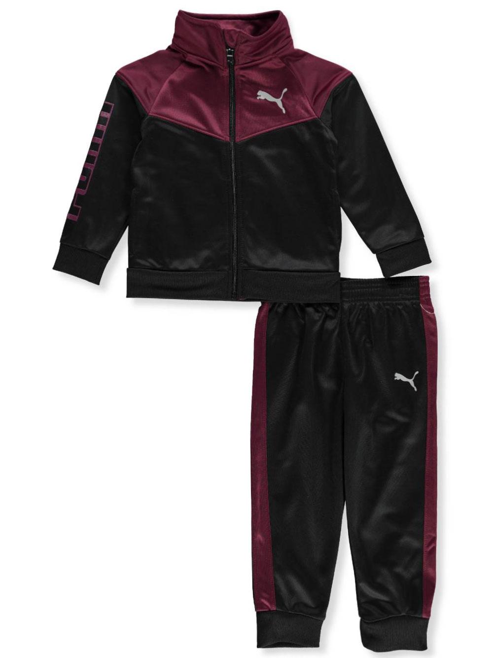a5e1d65b Puma Boys' 2-Piece Tricot Tracksuit Pants Set