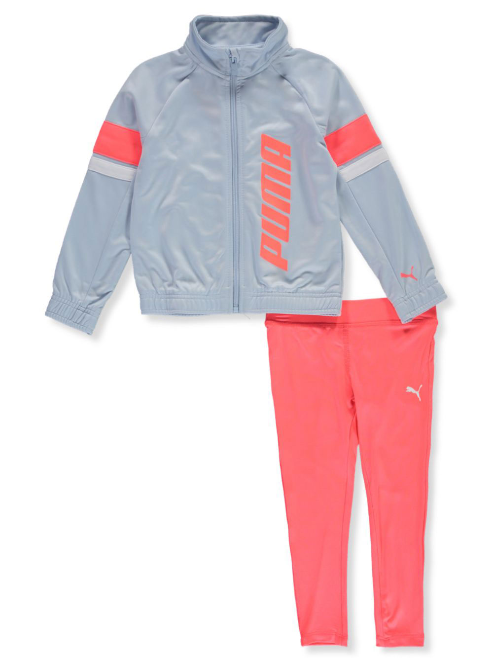 6X 6 Puma 2-piece Girls//Toddler Tracksuit Jacket and Pants Set Size 3T,4