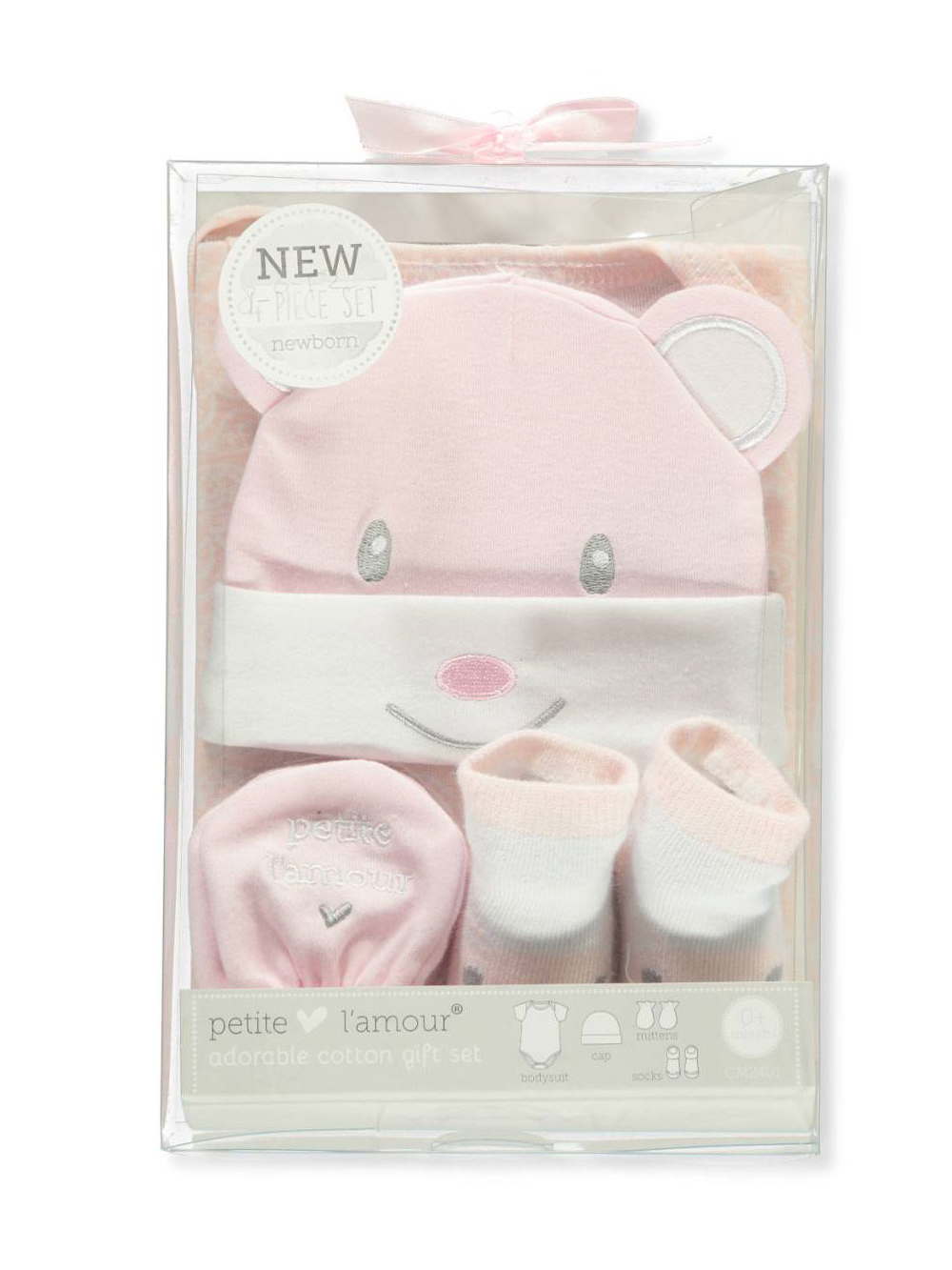 70846ca56f9 Petite L Amour Baby Girls  4-Piece Layette Gift Set