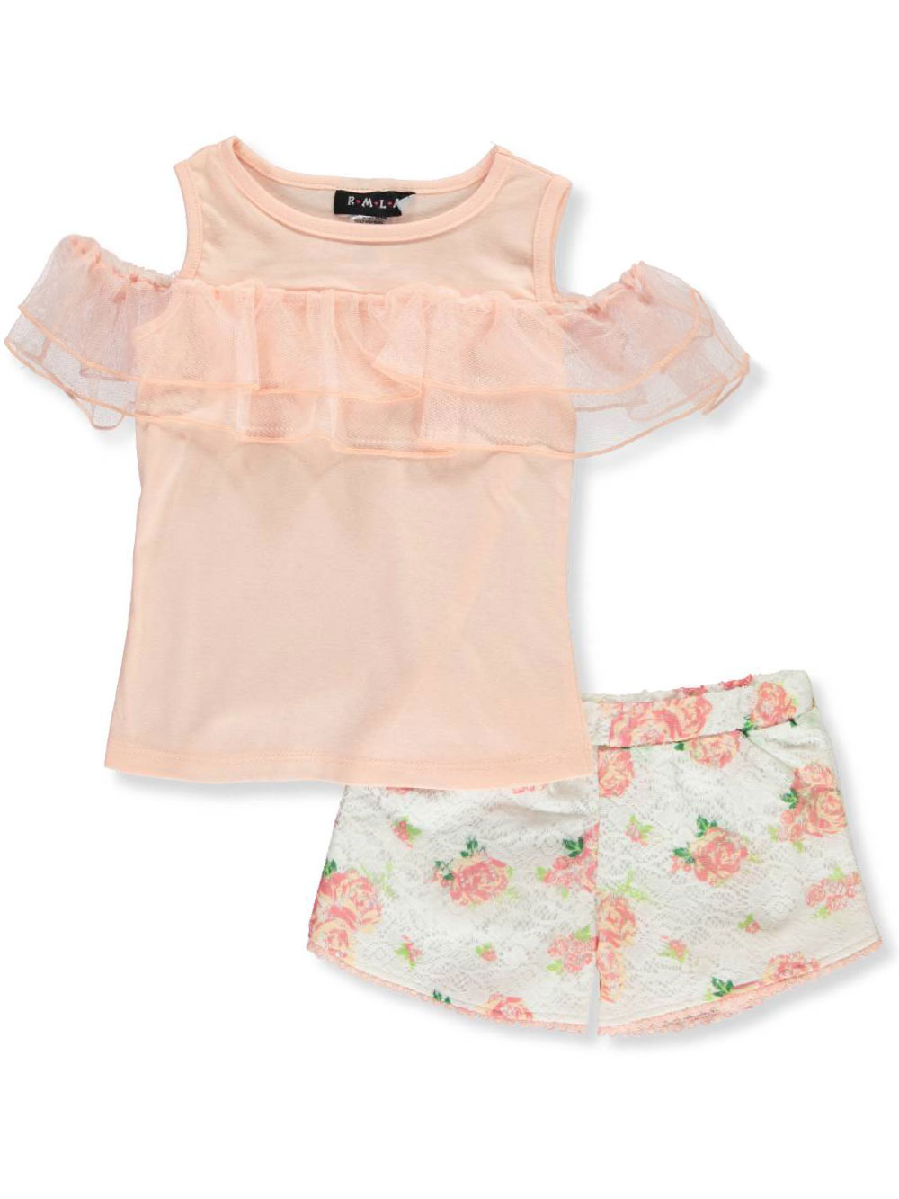 RMLA Girls 2-Piece Shorts Set Outfit