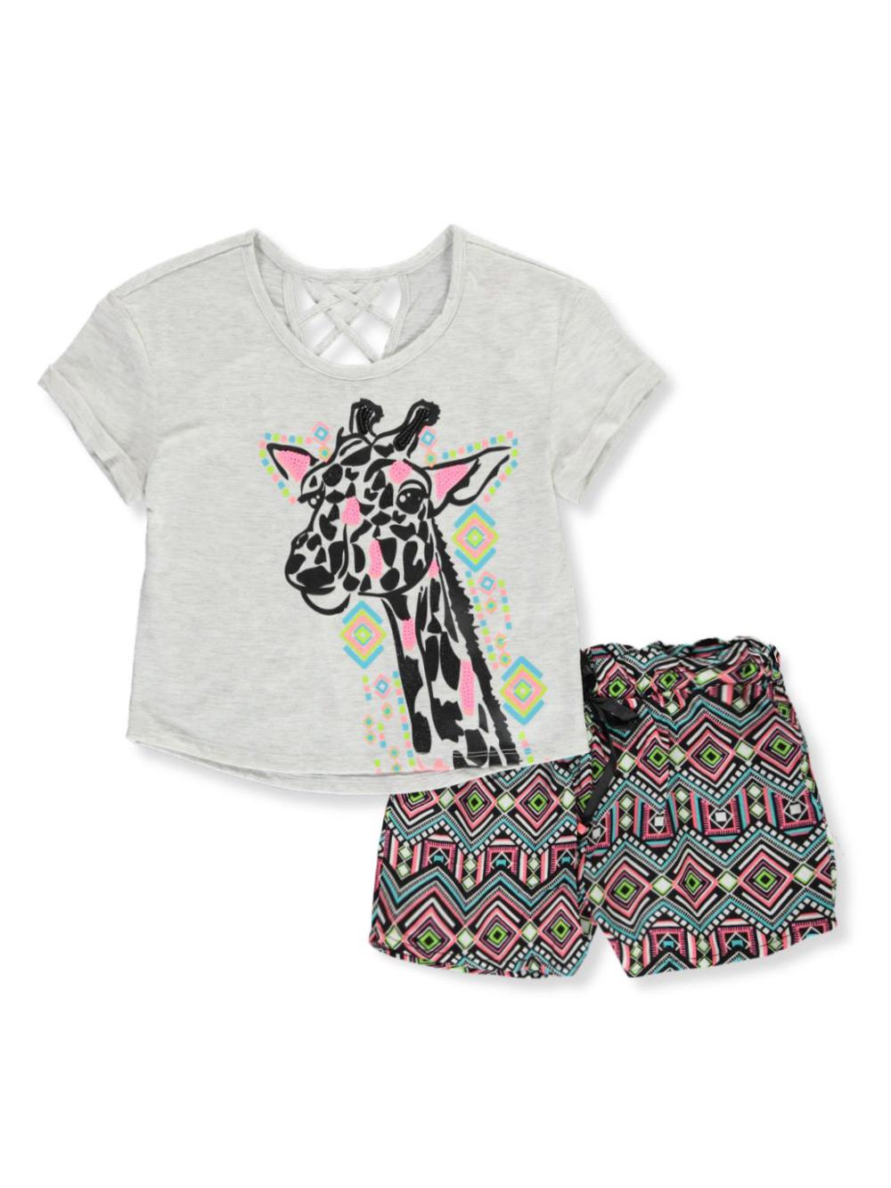 RMLA Girls 2-Piece Short Set Outfit