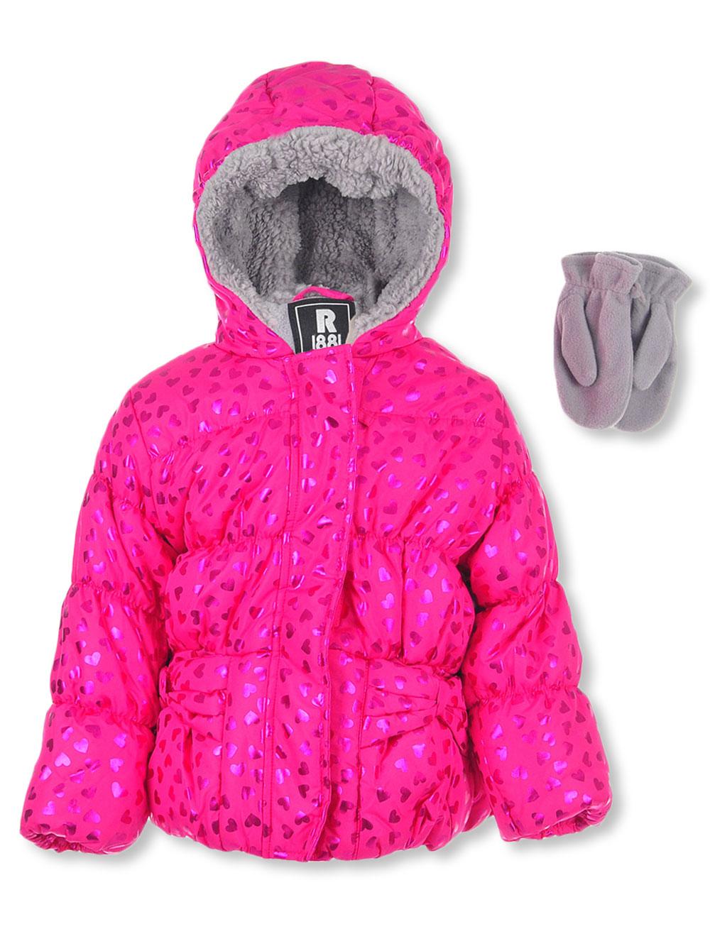 9c912c743 Rothschild Baby Girls' Insulated Jacket with Mittens