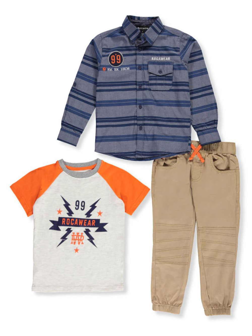 Rocawear Baby Boys 3 Piece Outfit