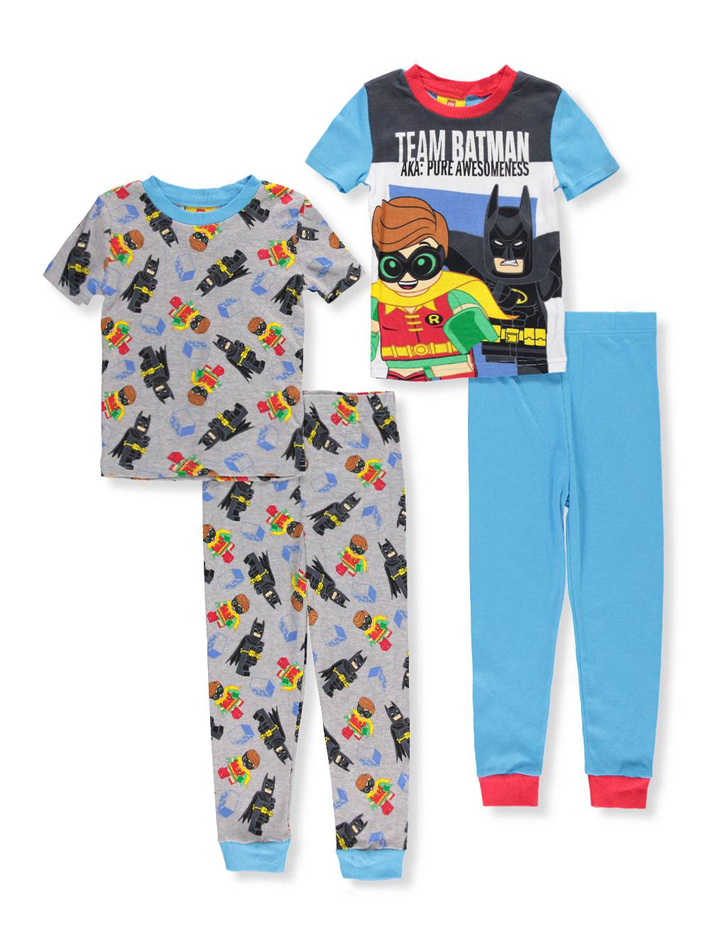 eaf1192c6 Lego Batman Boys  4-Piece Pajama Set