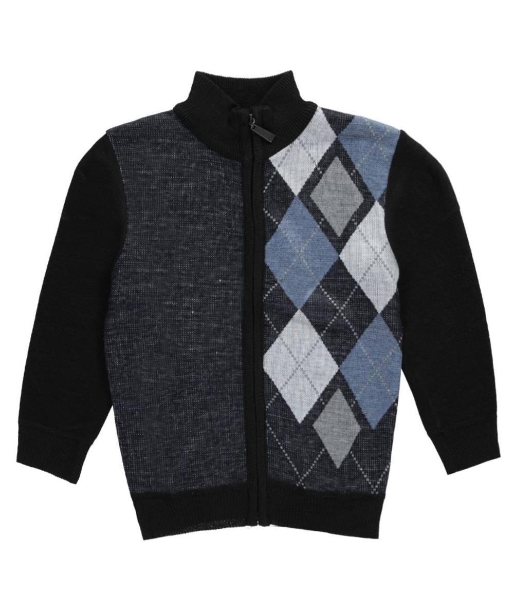 Image of American Legend Outfitters Little Boys Argyle Access ZipUp Sweater Sizes 4  7  navy 7