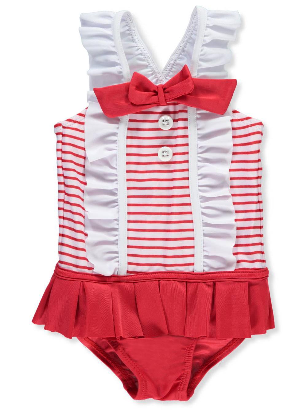 494b41987e9df Sol Swim Baby Girls' 1-Piece Swimsuit