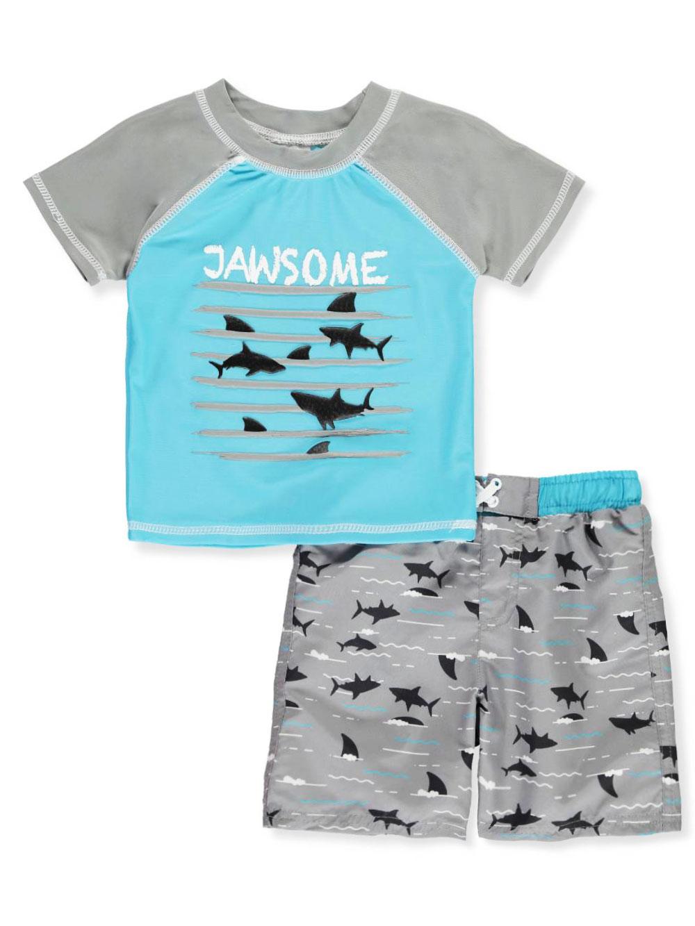 87fad5bf92 Baby Boys' 2-Piece Swim Set by Sol Swim from Cookie's Kids
