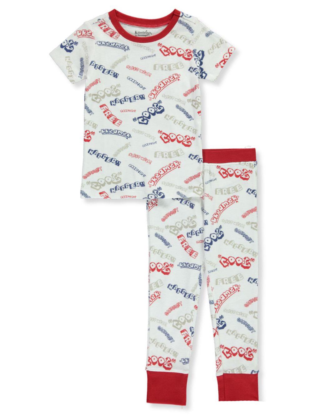 Kitestrings Boys/' Space Ships 2-Piece Pajamas