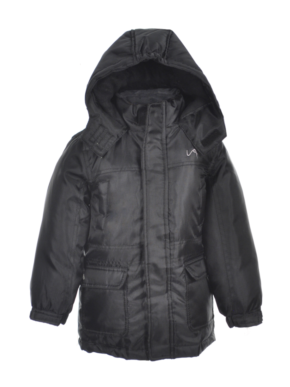 Image of Vertical 9 Little Boys Toddler Winter Stone Insulated Jacket Sizes 2T  4T  black 2t