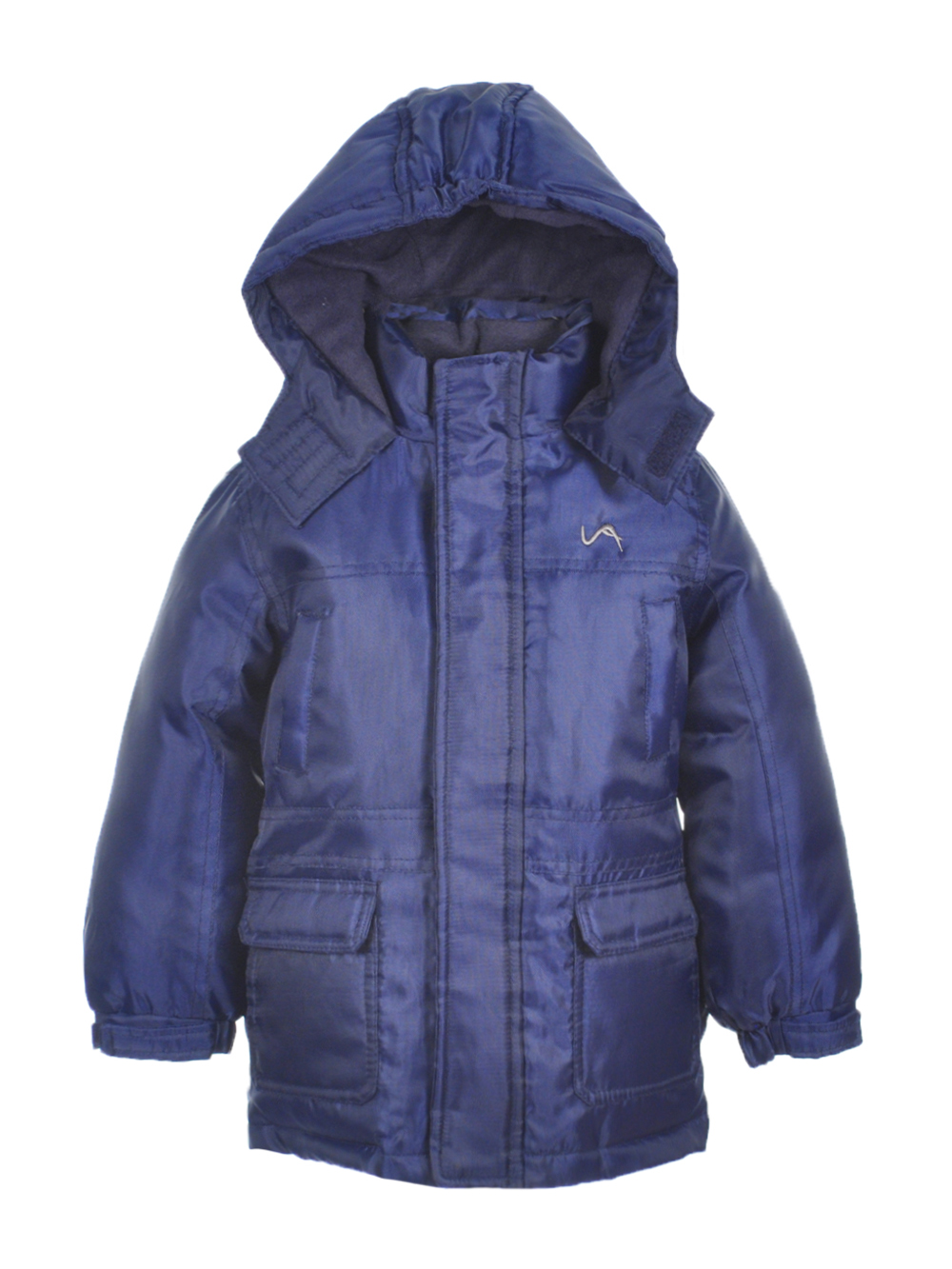Image of Vertical 9 Little Boys Toddler Winter Stone Insulated Jacket Sizes 2T  4T  navy 4t