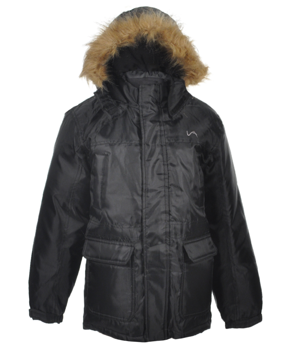 Image of Vertical 9 Little Boys Winter Stone Insulated Jacket Sizes 4  7