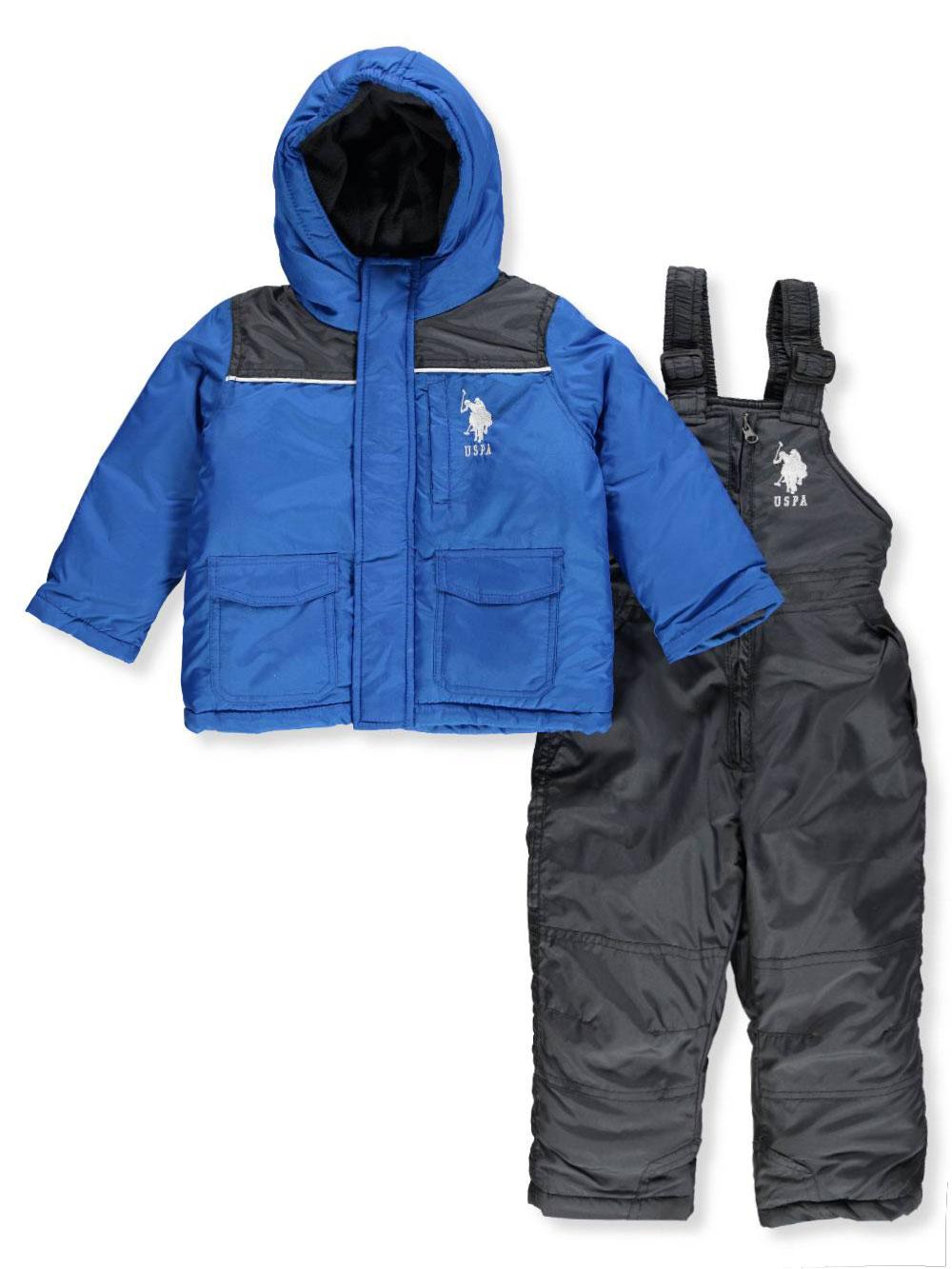 2f1a7e869038 U.S. Polo Assn. Baby Boys  2-Piece Snowsuit