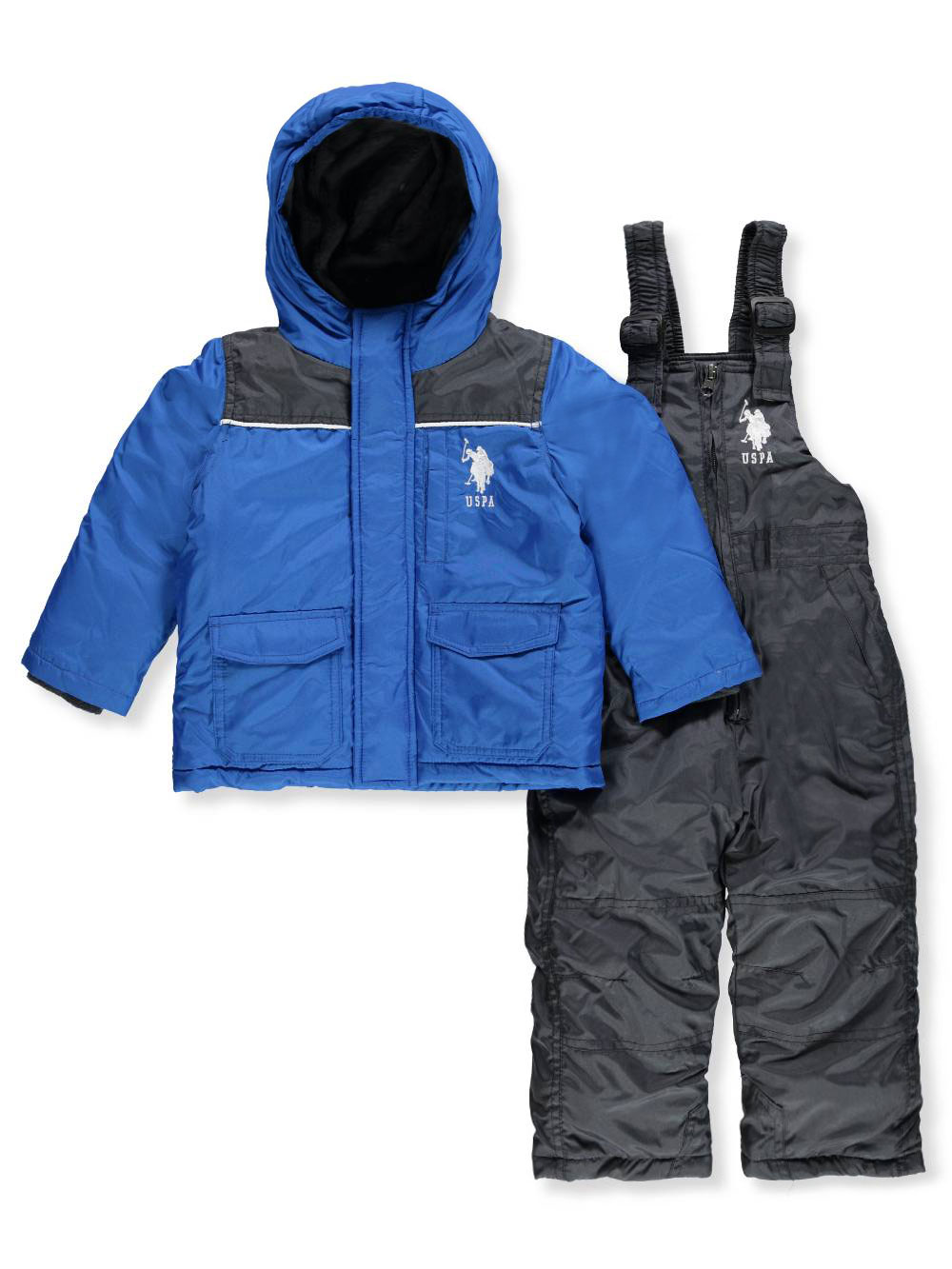 92e4155aa U.S. Polo Assn. Baby Boys  2-Piece Snowsuit