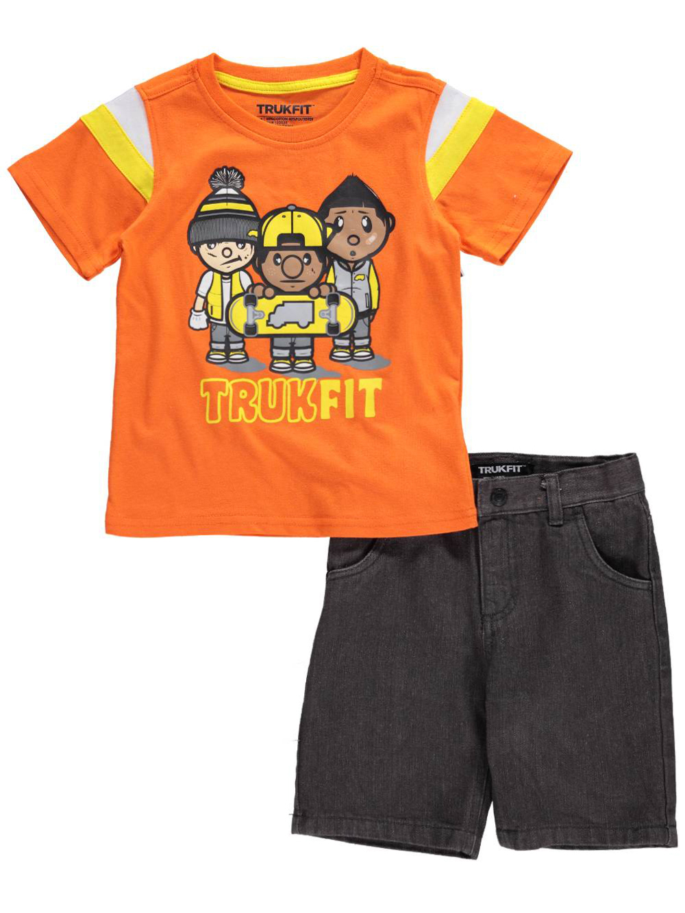 Image of Trukfit Little Boys Toddler Truk Groove 2Piece Outfit Sizes 2T  4T