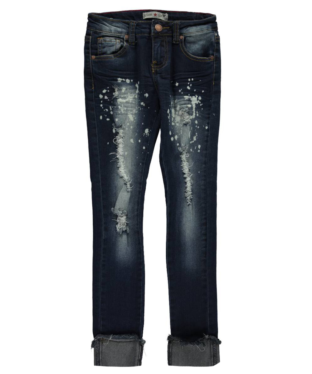 Image of Teen Gs Big Girls Rizzo Skinny Jeans Sizes 7  16