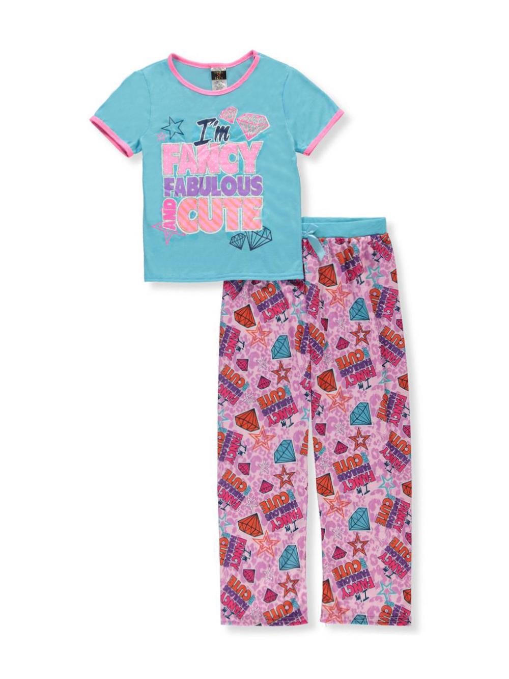 Angel Face Girls 2-Piece Pajamas