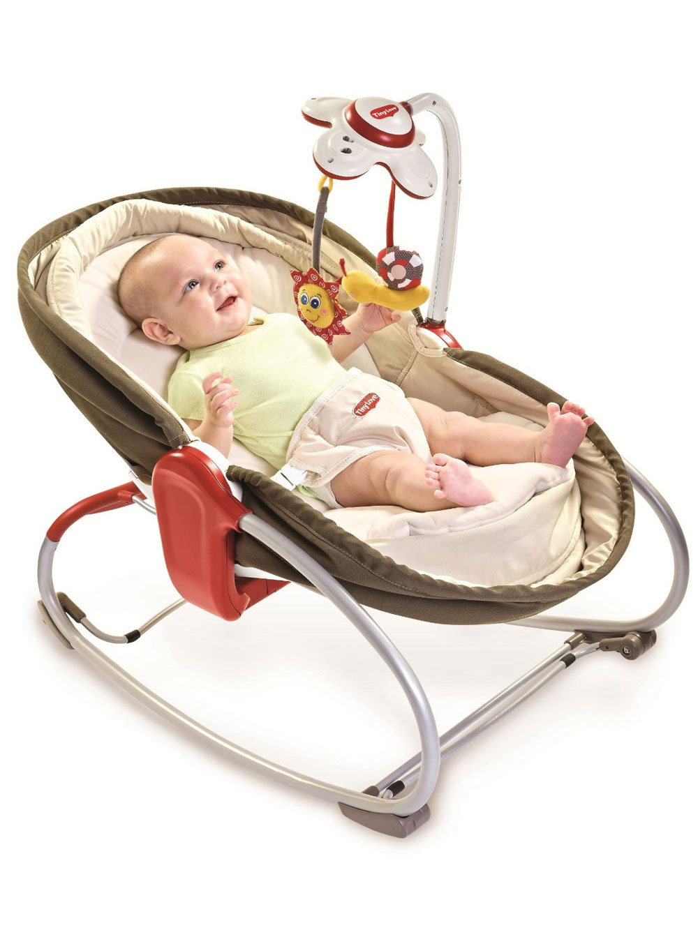 Tiny Love 3-in-1 Rocker Napper - brown, one size