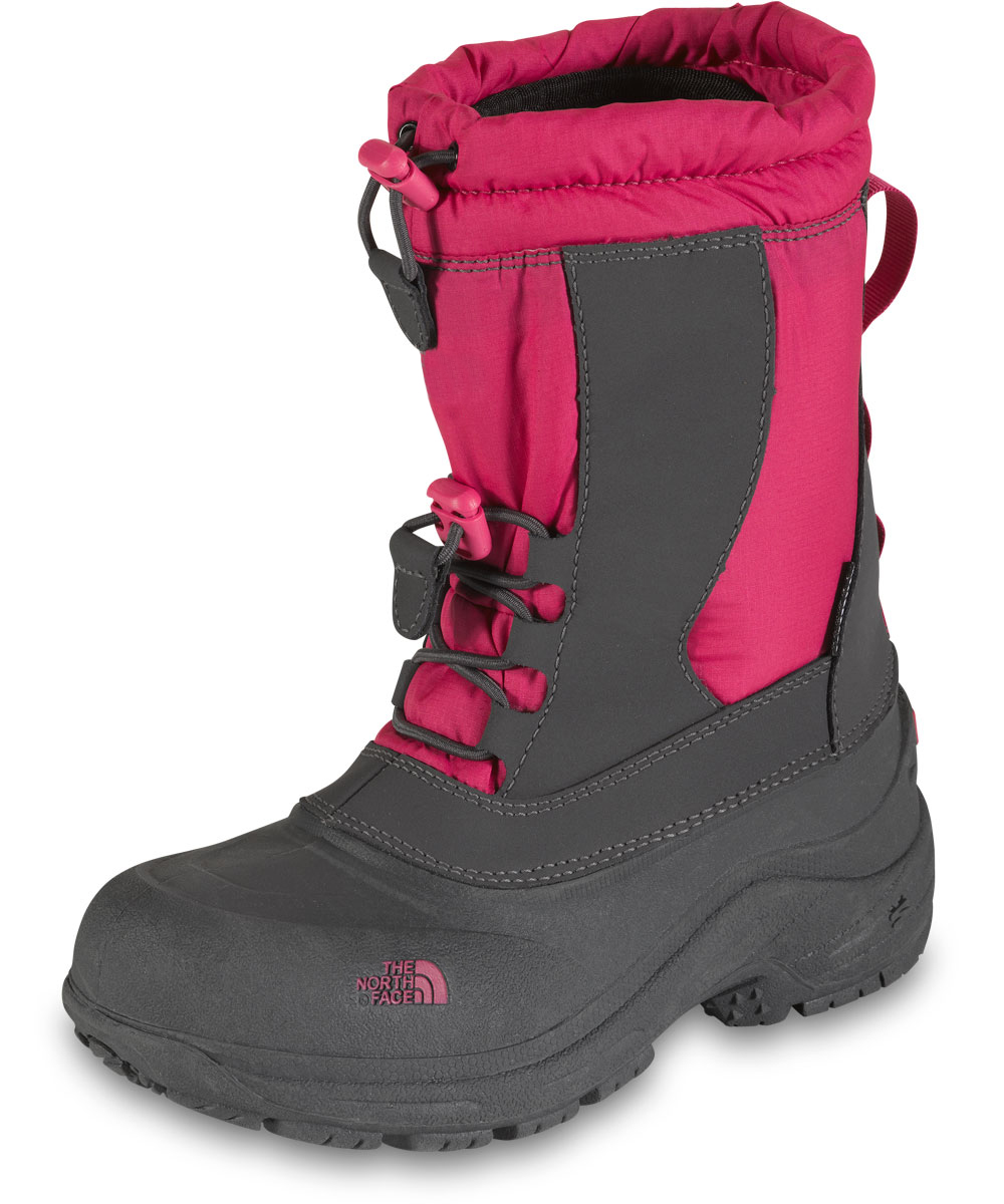 Image of The North Face Girls Alpenglow II Boots Youth Sizes 13  7  petticoat pinkzinc gray 10 youth