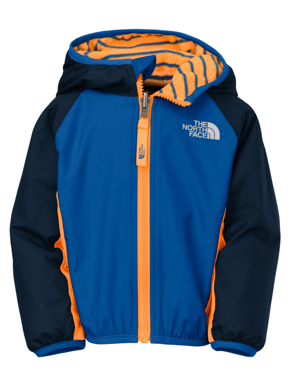 The North Face Baby Boys' Reversible Grizzly Peak Wind Jacket - monster blue, 6 - 12 months