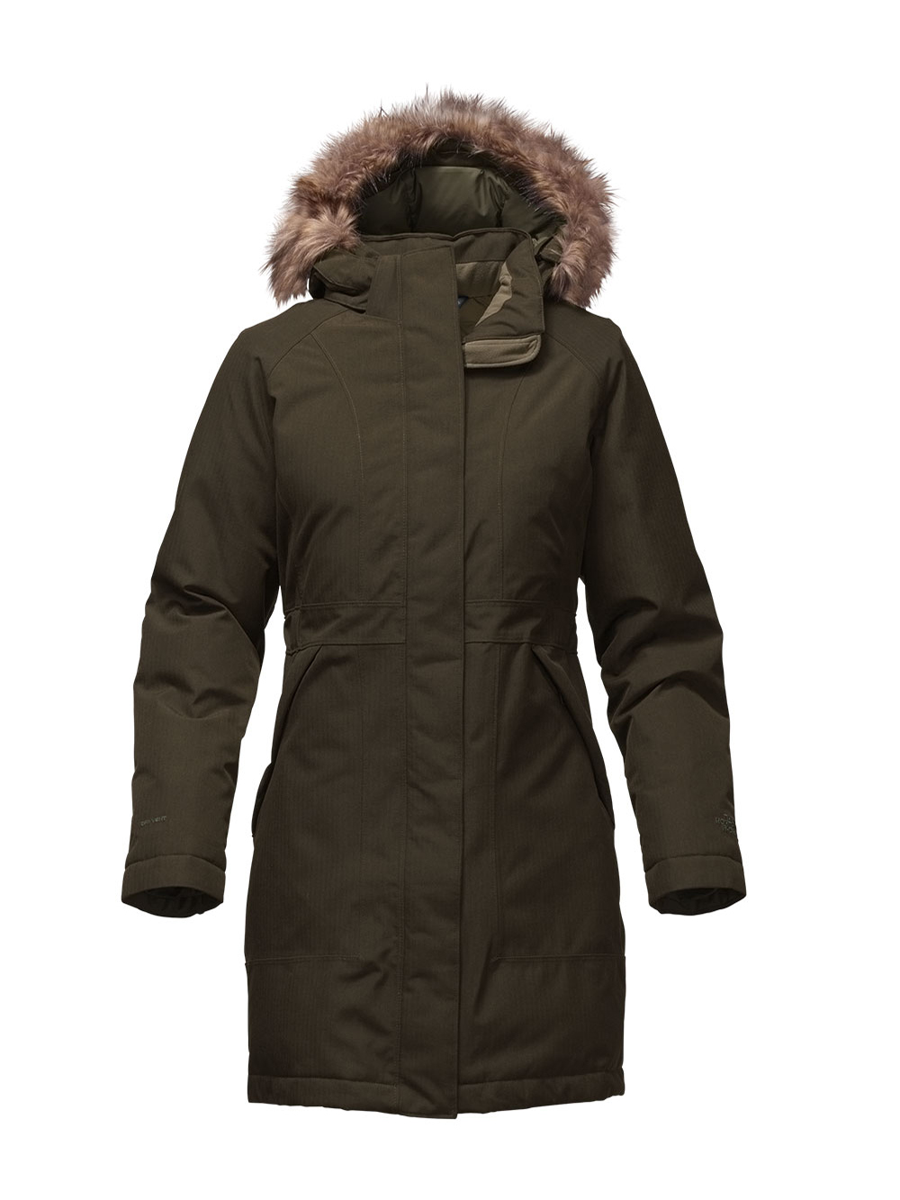 The North Face Women's Arctic Down Parka (Sizes S - L) - rosing green heather, xl