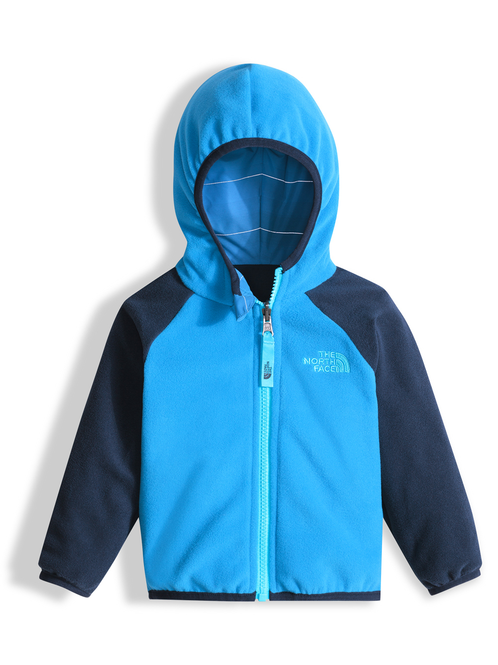 The North Face Baby Boys' Reversible Breezeway Wind Jacket - clear lake blue ombre reflective stripe, 12 - 18 months