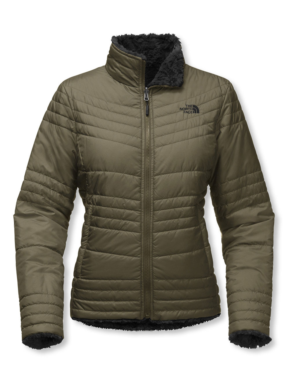 7299ca3e4 Women's Mossbud Swirl Jacket by The North Face in asphalt gray ...