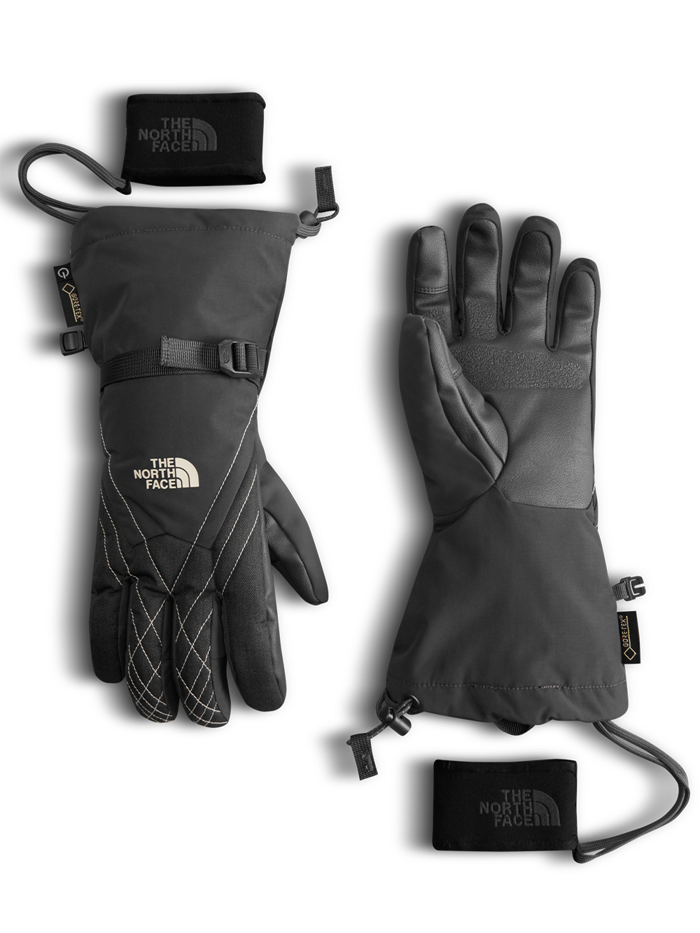 4b66867a3 Women's Montana Gore-Tex Gloves by The North Face in Asphalt gray ...