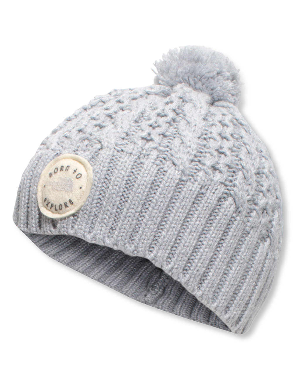 d321b6fa5 Baby Boys' Minna Beanie by The North Face in Tnf light gray heather ...
