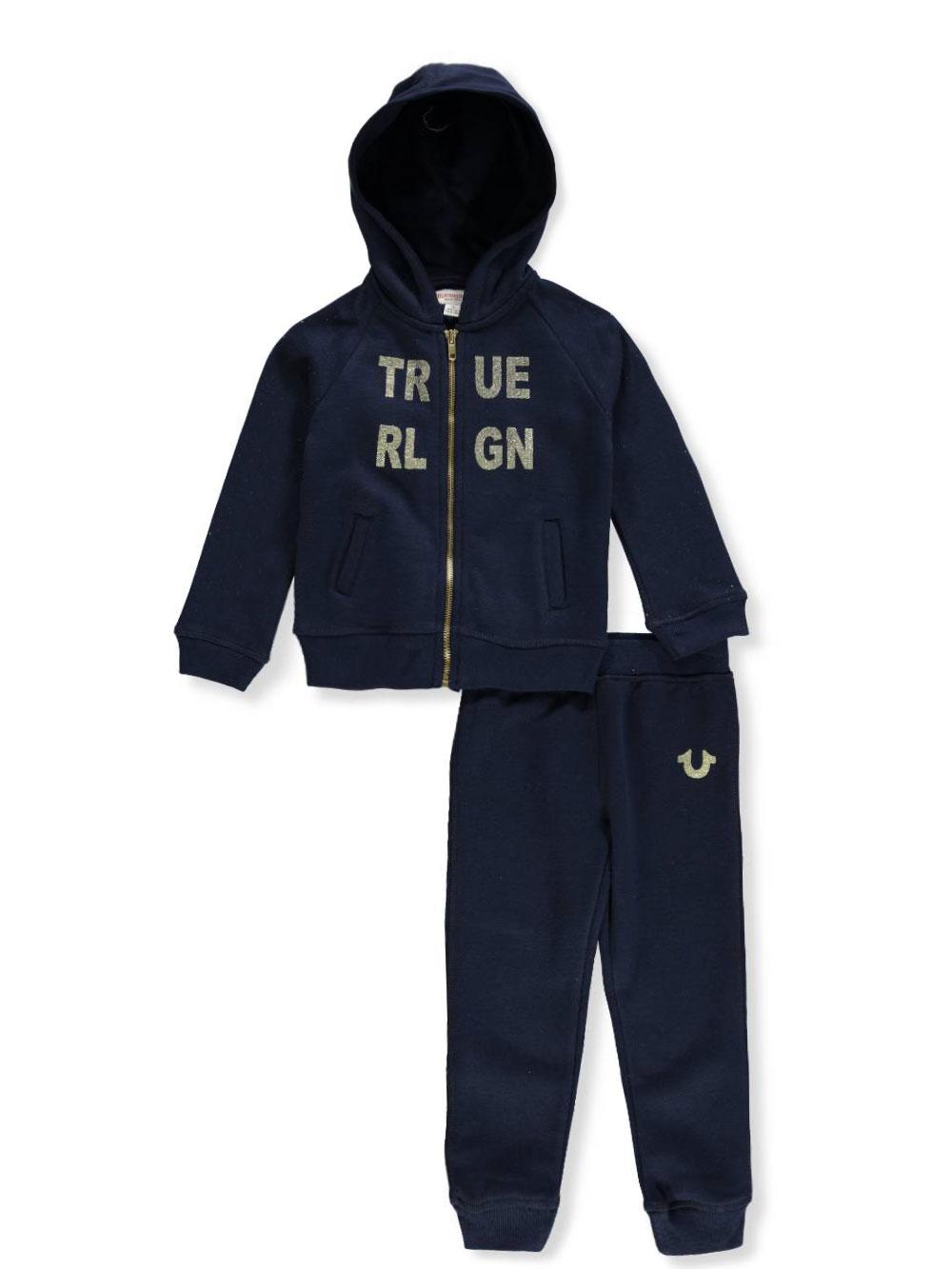 47b45dfaf True Religion Girls' 2-Piece Sweatsuit Pants Set