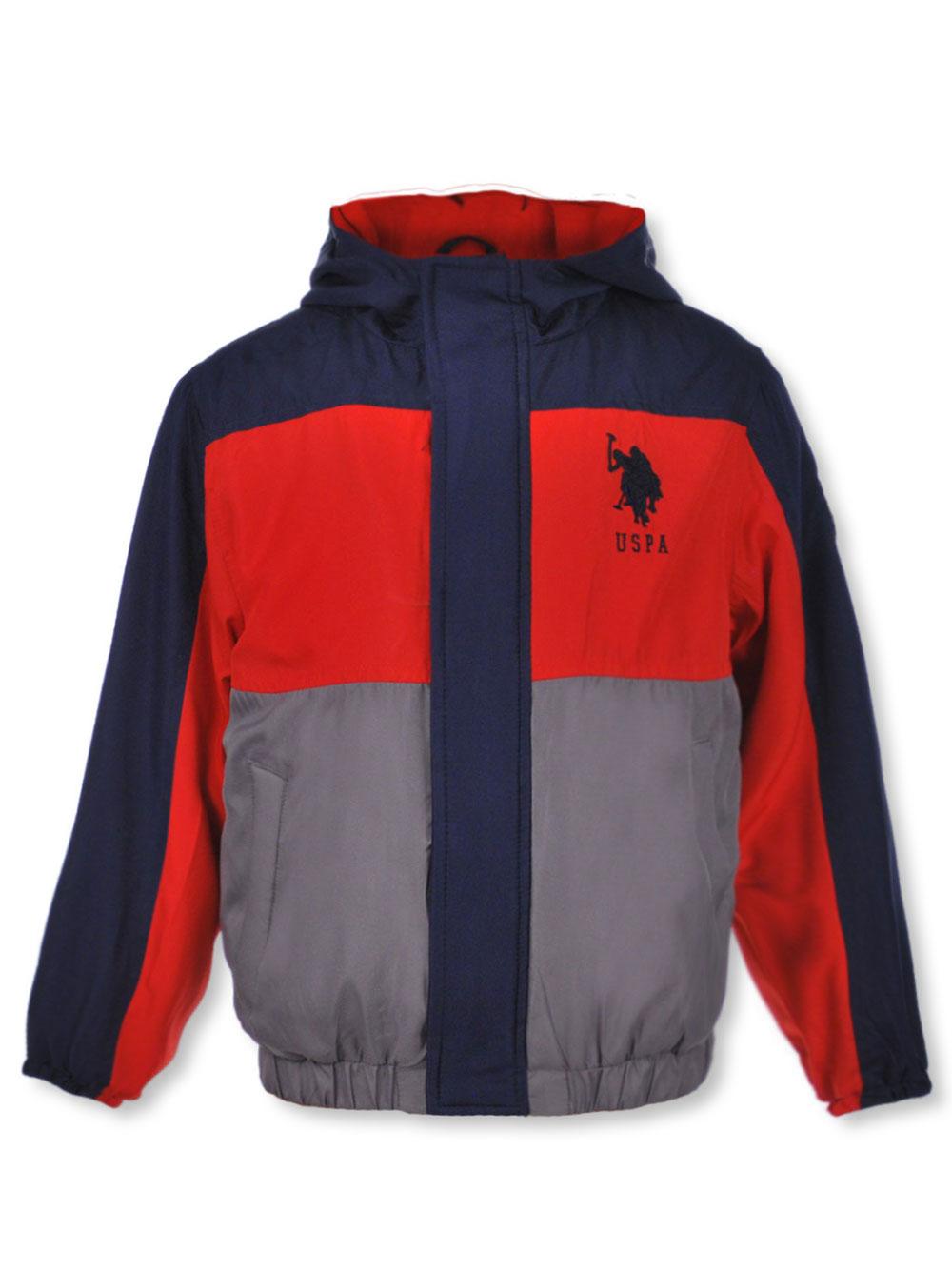 Boys Ribbed Sport Insulated Jacket Polo Assn U.S