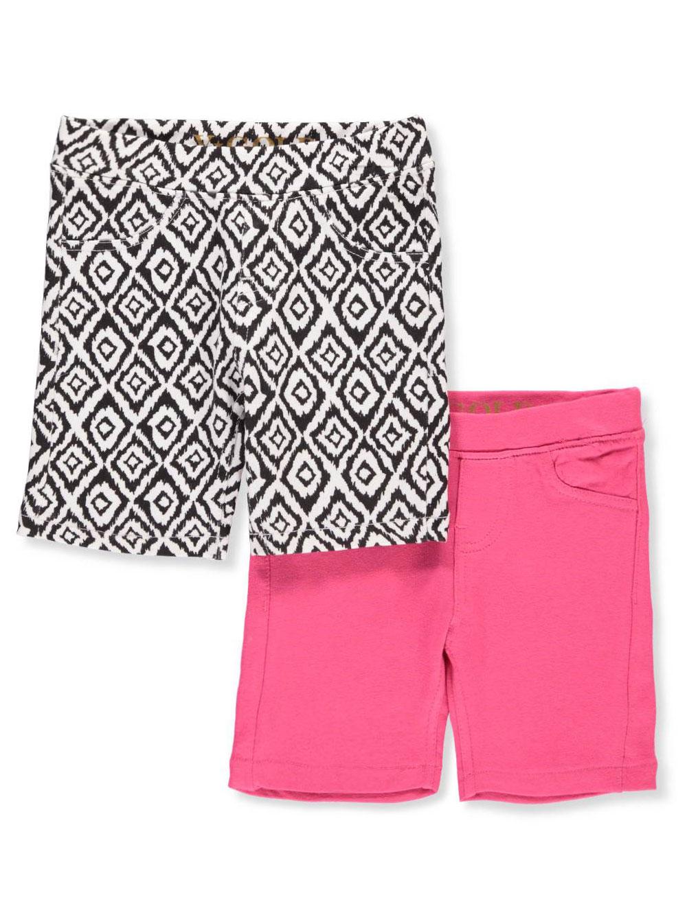 2f8d32d0a54b2 Vigoss Girls' 2-Pack Bermuda Shorts