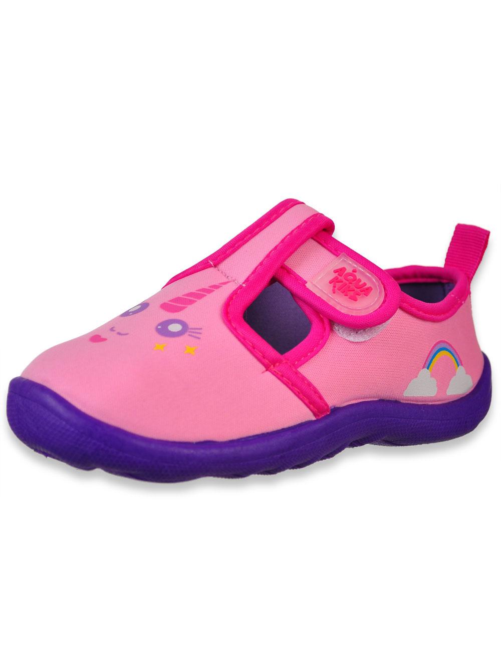 b0e141843c84 Aqua Kiks Girls  Water Shoes (Sizes 5 – 3)