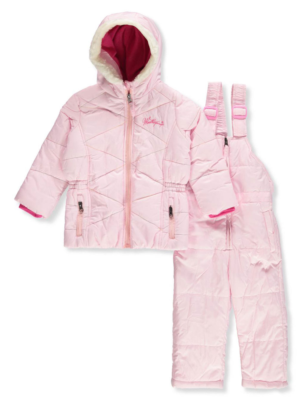 346ce599d Weatherproof Baby Girls' 2-Piece Snowsuit