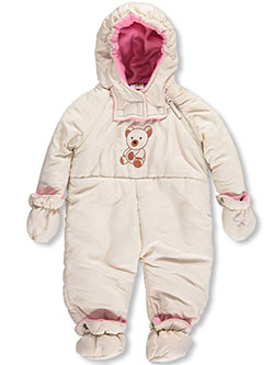 "Fourcast Baby Girls' ""Never Numb"" Snowsuit - CookiesKids.com"