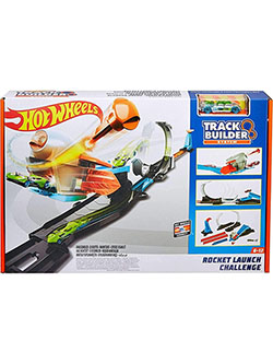 Mattel Hot Wheels Track Builder Rocket Launch Challenge Play Set by Hot Wheels