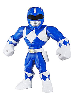 Heroes Mega Mighties Power Rangers Blue Ranger Action Figure by Playskool in Blue