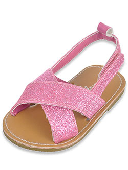 "Rising Star Baby Girls' ""Shine Star"" Sandals - CookiesKids.com"