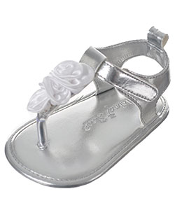 "Rising Star Baby Girls' ""Satin Bouquet"" Sandal Booties - CookiesKids.com"