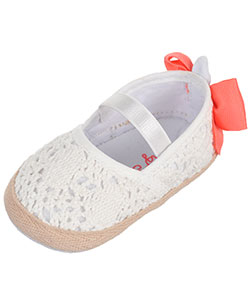 "Rising Star Baby Girls' ""Front Row"" Mary Jane Booties - CookiesKids.com"