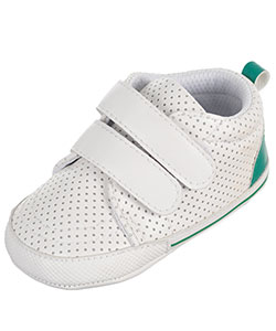 "Rising Star Baby Boys' ""Dotted Classic"" Sneaker Booties - CookiesKids.com"