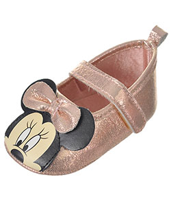 "Minnie Mouse Baby Girls' ""Sweet Shimmer"" Booties - CookiesKids.com"
