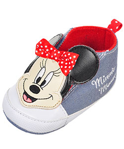 Disney Minnie Mouse Baby Girls' Sneaker Booties - CookiesKids.com