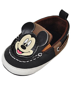 Mickey Mouse Baby Boys' Slip-On Booties - CookiesKids.com