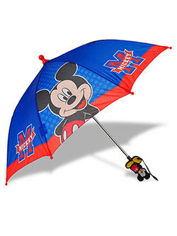 Mickey Mouse Umbrella by Disney in Blue/red